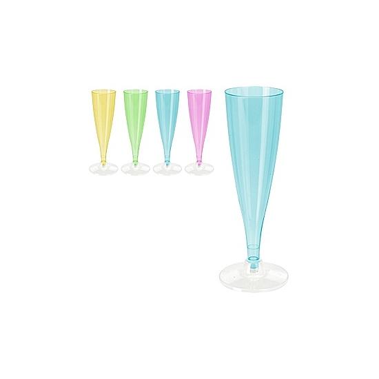 Champagneglazen plastic