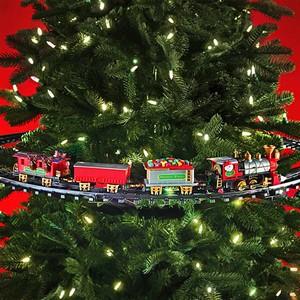 trein-kerstboom